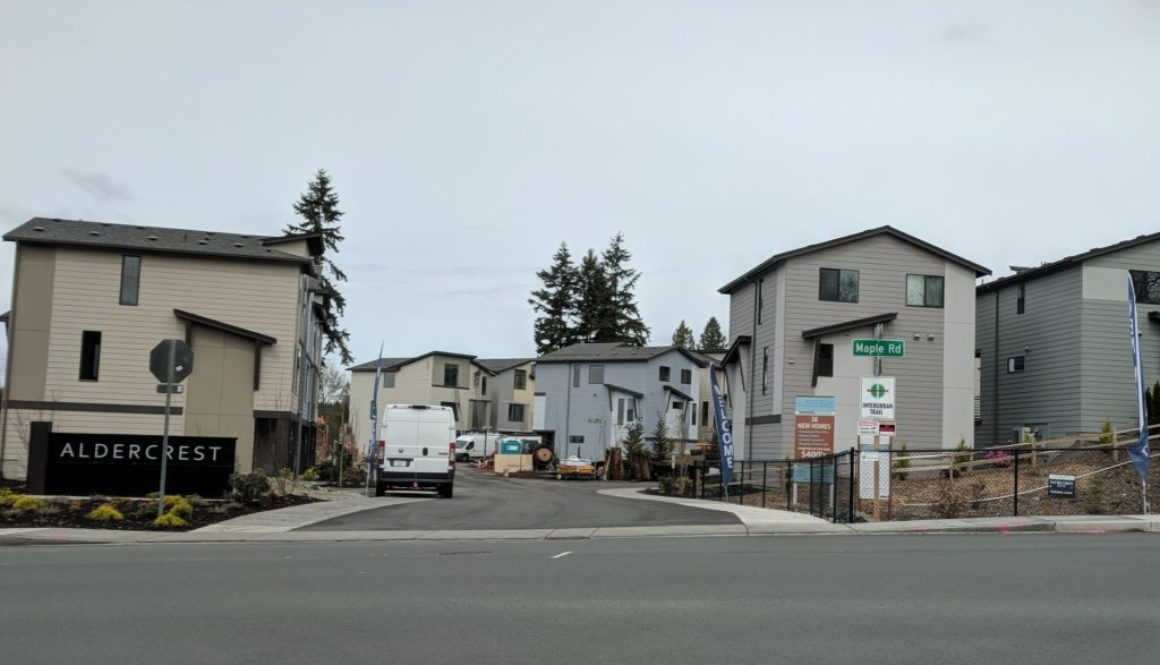Entrance to Alder Crest Community in Lynnwood
