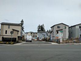 Entrance to Alder Crest Community in Lynnwood