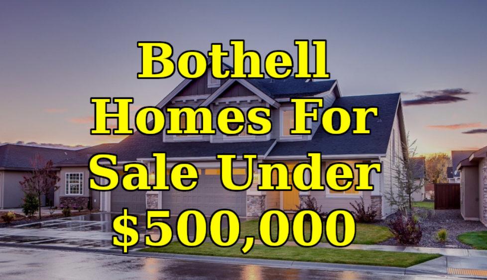 Bothell, WA homes under $500,000