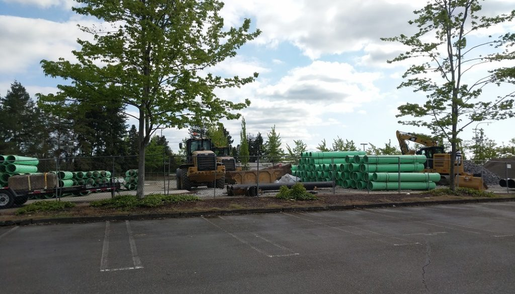 Start of construction on Cosmos apartments in Lynnwood