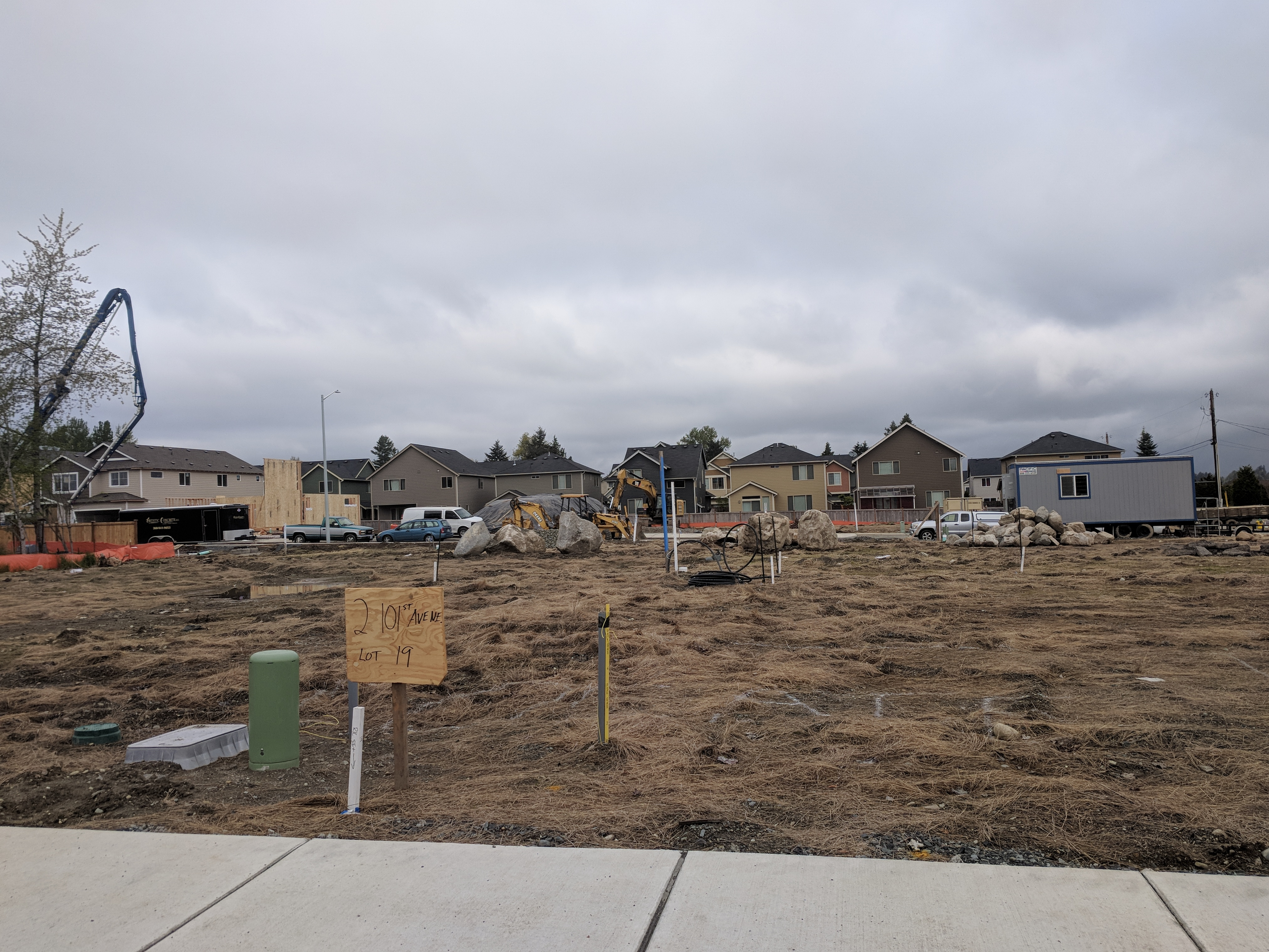 Stevens Vista Under Development