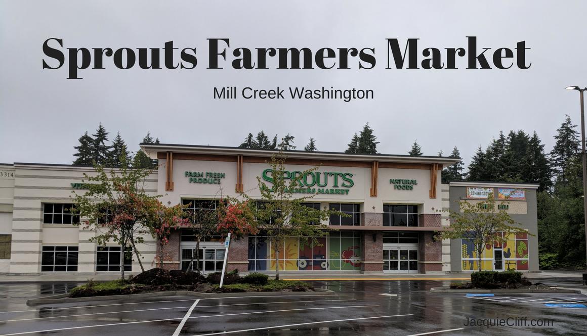 Sprouts Farmers Market Opening in Mill Creek, WA