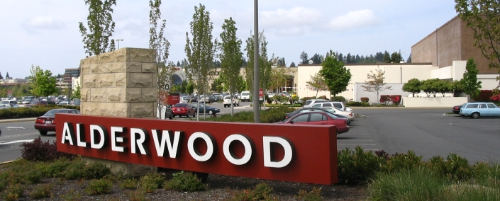 Alderwood Mall in Lynnwood Washington