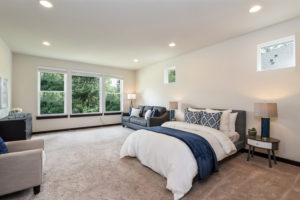 Master bedroom in 17525 3rd Ave SE Bothell WA