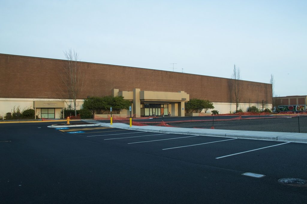 Former Sears location at Alderwood mall that is going to be a Dave and Busters